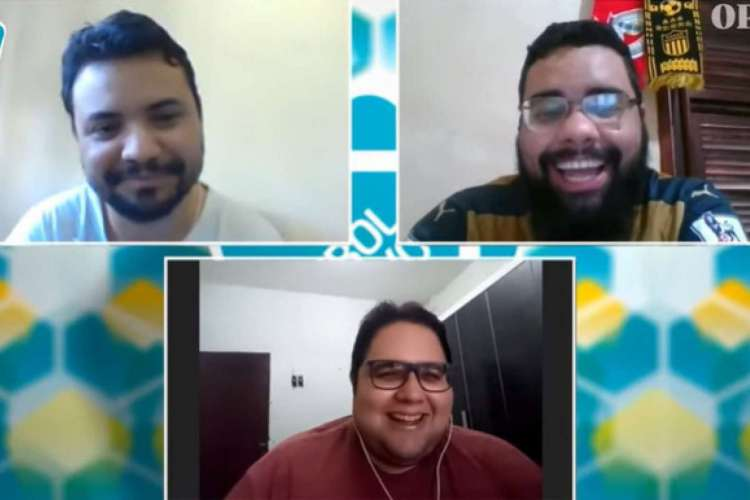 Futebol do Povo debate final da Copa do Nordeste  (Foto: Reprodução/YouTube/O Povo Online)
