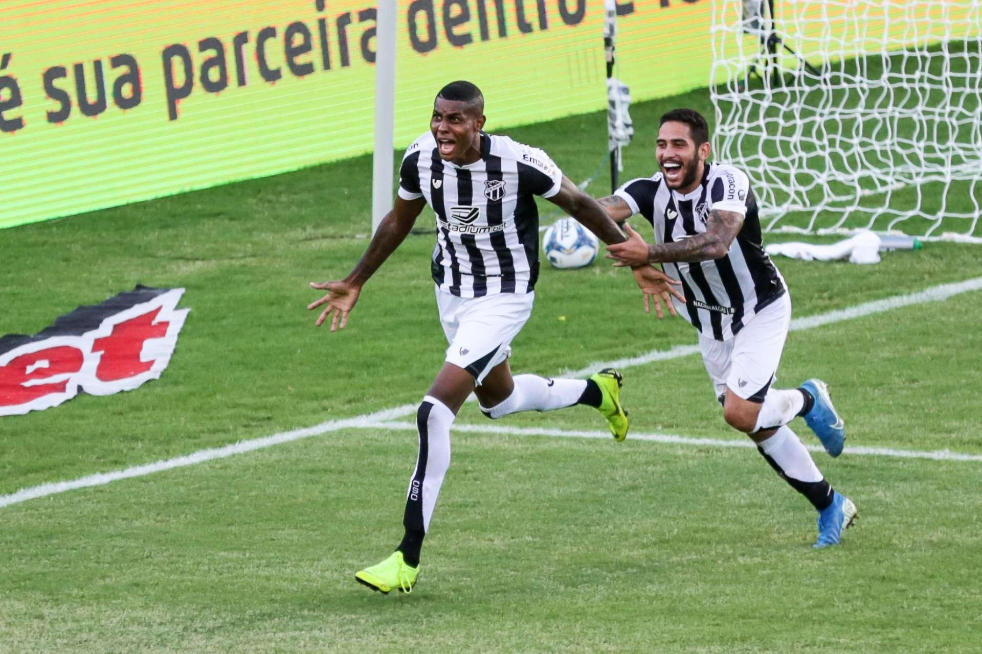 Mateus Gonçalves marcou o terceiro tento do Alvinegro