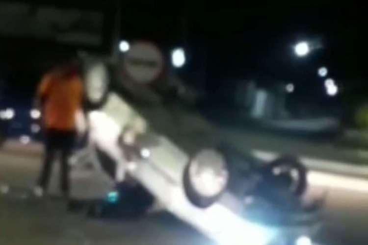 PRE diz que acidente não teve vítimas (Foto: Reprodução/Instagram)