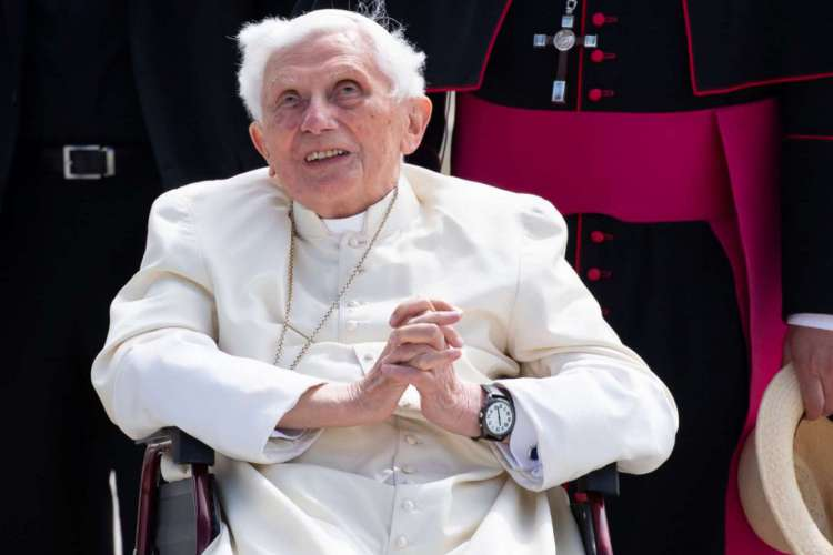 Papa emérito Bento XVI (Foto: Sven Hoppe / POOL / AFP)
