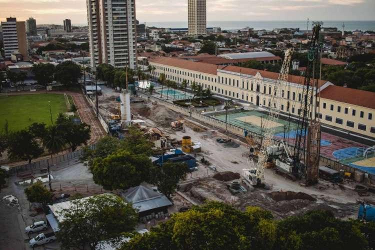 COLÉGIO MILITAR de Fortaleza: comunicado para professores sobre retorno na próxima segunda-feira, 21, apesar da proibição no Ceará (Foto: Aurelio Alves/ O POVO)