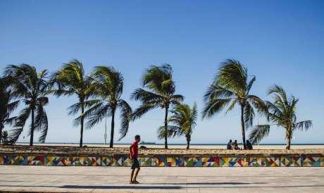 Marinha emite alerta de ventos de até 60 km/h no litoral do Ceará