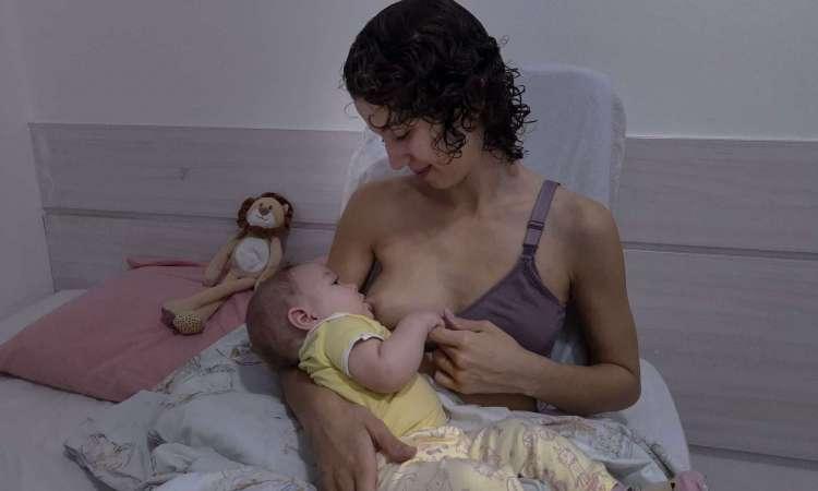Fernanda Vasconcelos faz doação para bancos leites (Foto: Aurélio Alves / O Povo)