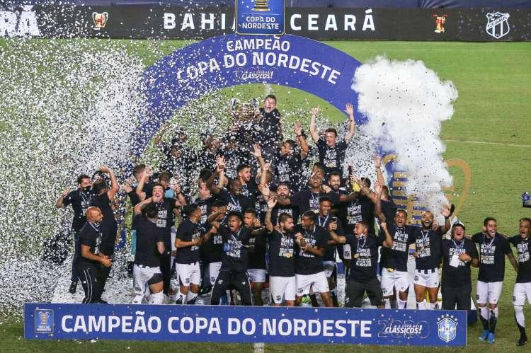 Ceará foi o campeão da Copa do Nordeste em 2020