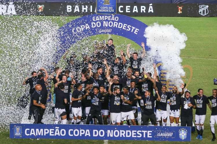 Ceará é o atual campeão da Copa do Nordeste (Foto: Pedro Chaves/FCF)