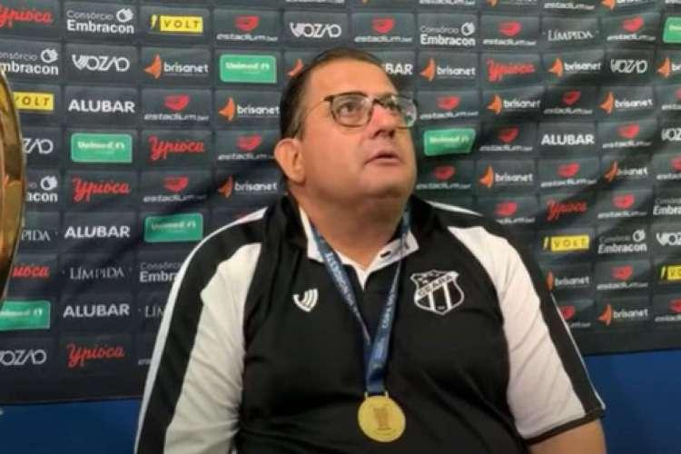 Guto Ferreira fez apenas oito jogos pelo Ceará, ao todo, e já foi campeão pelo clube  (Foto: Reprodução/YouTube/Vozão TV)