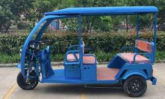 Veículos Tuk Tuk estão sendo montados em São Paulo