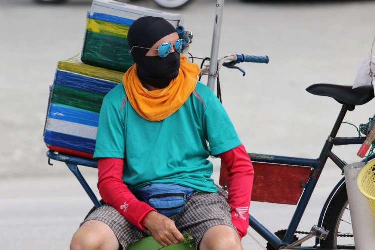 Uso de máscara é obrigatório no Ceará durante a pandemia (Foto: Fabio Lima)