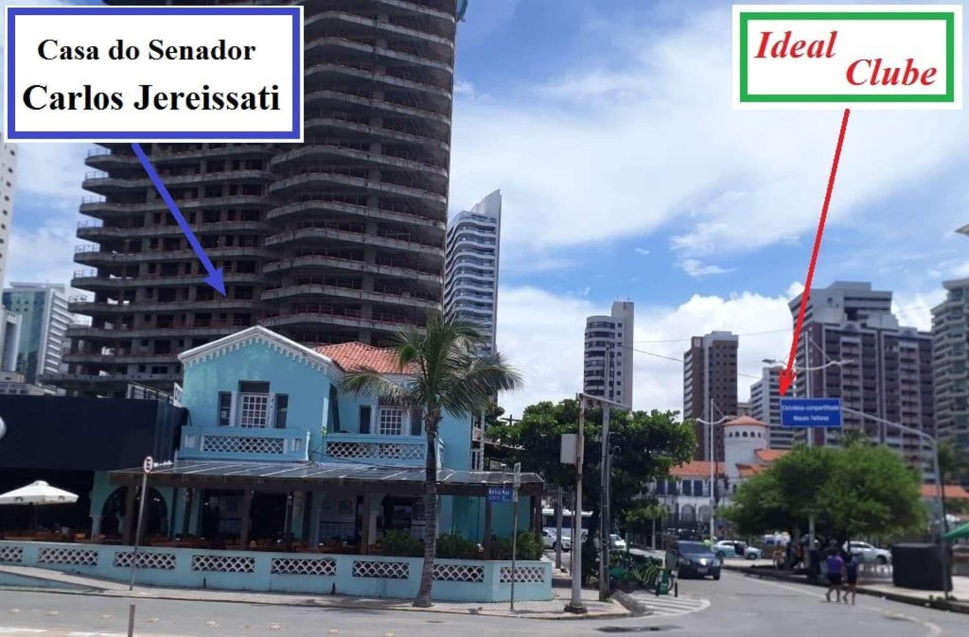 Tombamento do Ideal Clube, na Praia de Iracema, gerou críticas do movimento.