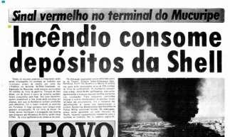 O POVO cobriu incêndio no Porto do Mucuripe durante, pelo menos, três dias seguidos