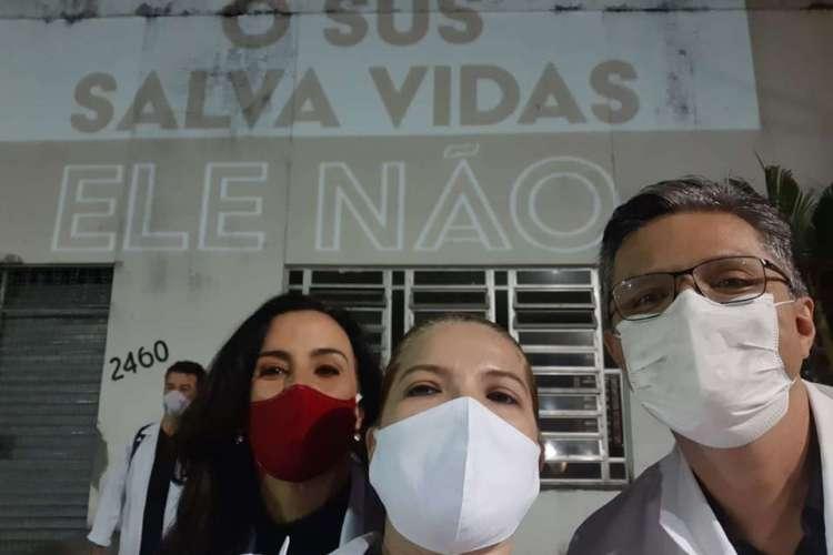 O coletivo já havia realizado uma manifestação na Praia de Iracema, no dia 13 de junho   (Foto: O coletivo já havia realizado uma manifestação na Praia de Iracema, no dia 13/06. Foto: Divulgação)
