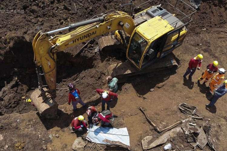 O Corpo de Bombeiros de Minas Gerais informou hoje (19) que encontrou o corpo de mais uma vítima do rompimento da barragem da Mina Córrego do Feijão, em Brumadinho, na região metropolitana de Belo Horizonte. (Foto: Corpo de Bombeiros de Minas Gerais)