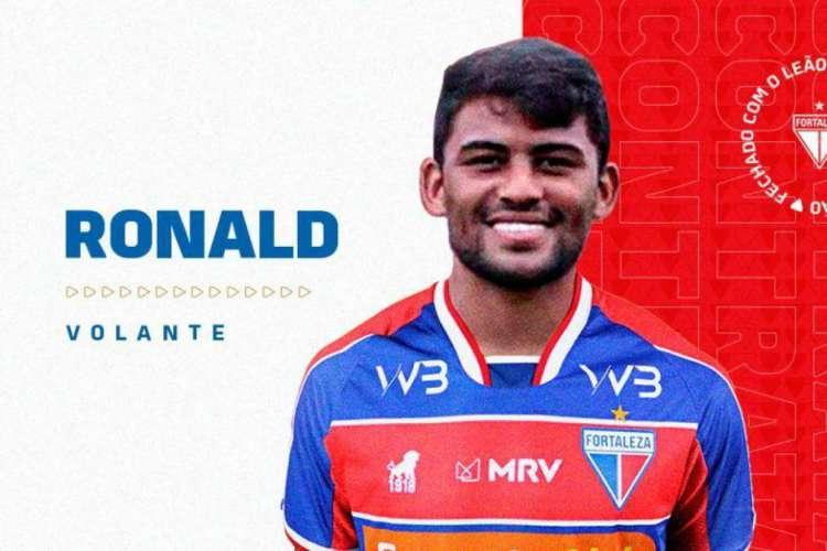 Ronald, de 23 anos, chega para reforçar Fortaleza no restante da temporada (Foto: Reprodução / Fortaleza EC)