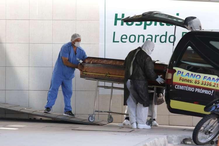 Ceará já registra 9.683 mortes pela Covid-19 (Foto: Fabio Lima)