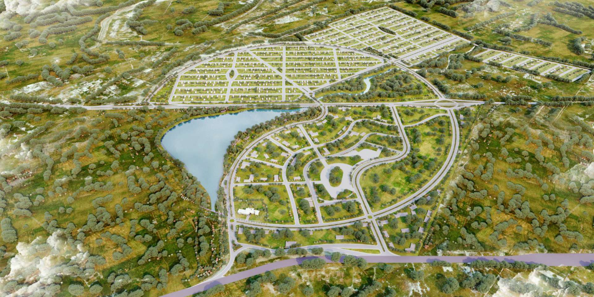 Localizada na rodovia CE-040, km 36, a Smart City Aquiraz é aberta e terá cerca de 5 mil lotes, entre residenciais e comerciais
