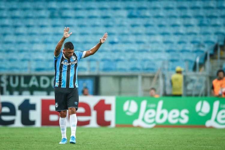 Diego Souza é um dos desfalques para duelo entre Ceará e Grêmio. (Foto: Lucas Uebel/Gremio FBPA)