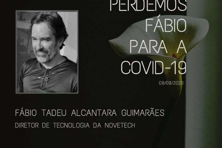 Fábio era diretor de tecnologia da empresa Novetech, empresa de TI paraibana focada em atividades na área da saúde (Foto: Reprodução/Twitter)