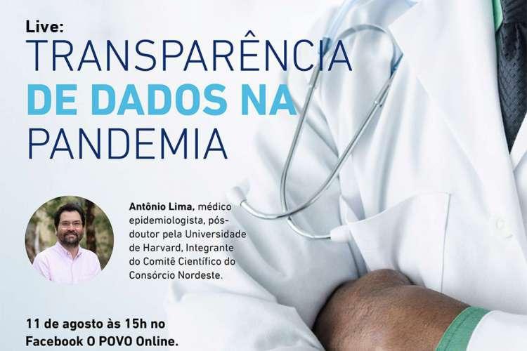 O ao vivo do projeto Nova Saúde ocorre nesta sexta-feira, às 15 horas (Foto: Divulgação)