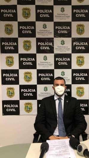 Delegado adjunto da Draco, Kléver Farias. Foto: Angélica Feitosa  (Foto: Foto: Angélica Feitosa)