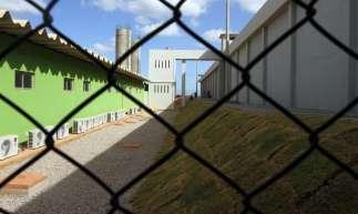 Fortaleza, CE, Brasil, 11-11-2016: Centro de Execução Penal e Integração Social Vasco Damasceno Weyne (Cepis), localizado no complexo prisional de Itaitinga II, é inaugurado e será o maior presídio do Ceará. (Foto: Mateus Dantas / O Povo)