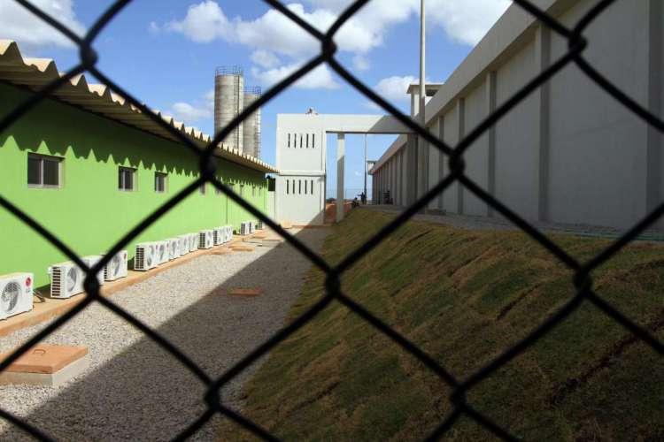 Empresa fornece alimentação para o Centro de Execução Penal e Integração Social Vasco Damasceno Weyne (Cepis), localizado no complexo prisional de Itaitinga II (Foto: Mateus Dantas em 11/11/2016)