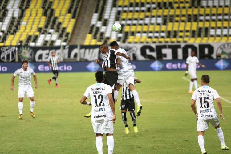Ceará e Grêmio ficaram no empate em 1 a 1 (Foto: Felipe Santos/cearasc.com)