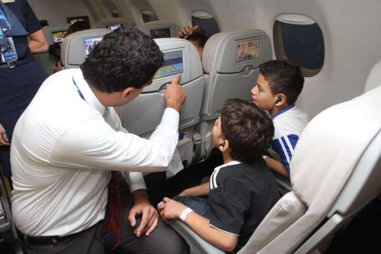 Viagem de crianças e adolescentes desacompanhados pode ser autorizada agora de forma virtual (Foto: Tatiana Fortes em 12.10.2013)