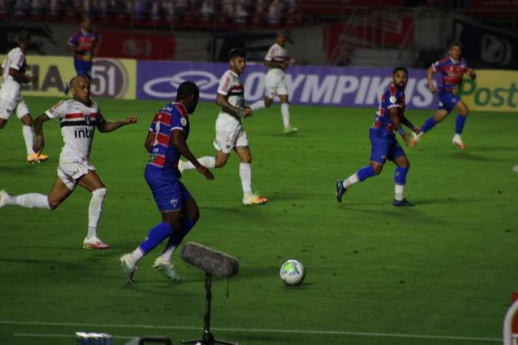 São Paulo venceu o Fortaleza por 1 a 0, no Morumbi (Foto: Fotos: Bruno Oliveira/FortalezaEC)