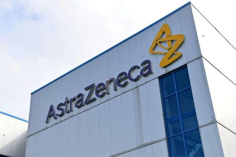 Edifício de escritórios da empresa farmacêutica e biofarmacêutica multinacional AstraZeneca PLC em Macclesfield, Cheshire, Inglaterra, em 21 de julho de 2020 (Foto: AFP / Paul ELLIS)