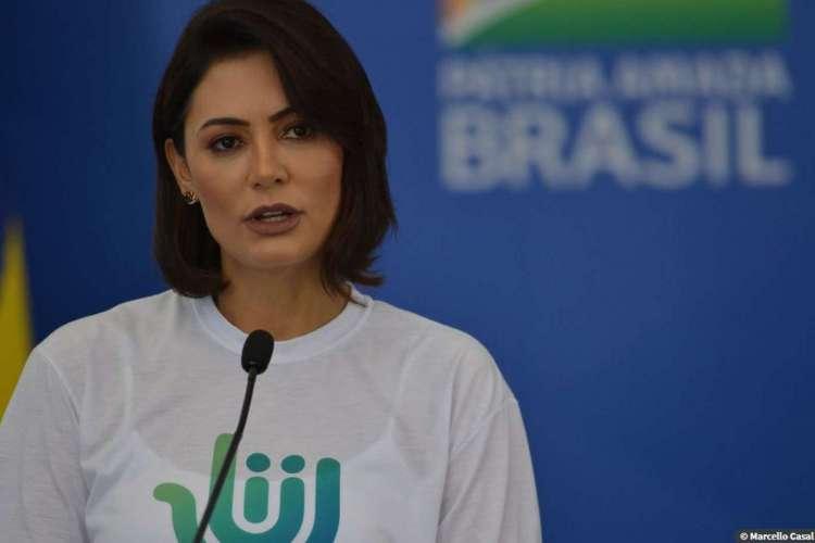 Segundo a mulher do presidente Jair Bolsonaro, tais ofensas seriam repercussão de um texto publicado sobre sua relação conjugal (Foto: AGÊNCIA BRASIL)