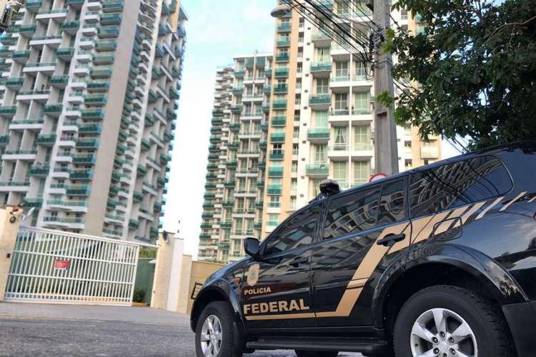 Carro da Polícia Federal. (Foto: Foto: Ascom/PRF)