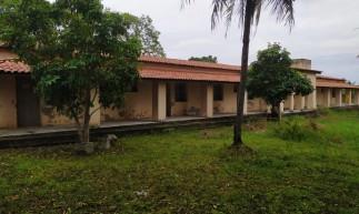 Um dos pavilhões do Centro de Convivência Antônio Justa, em Maracanaú, atualmente
