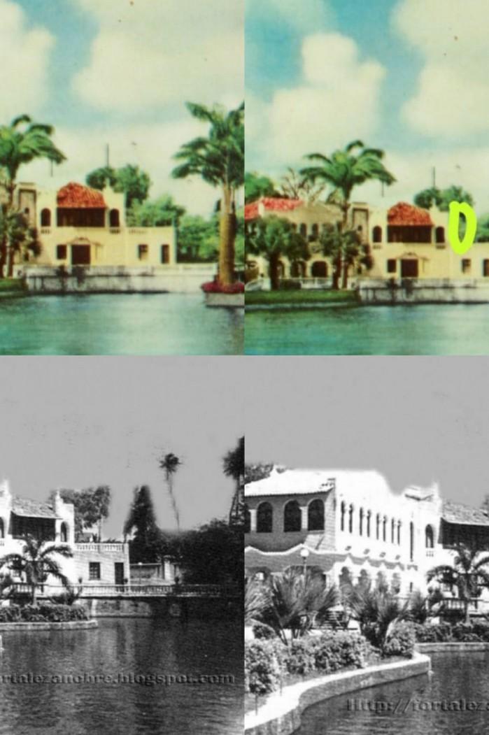 Imagens de arquivos mostram a edificação sem o cômodo que foi demolido