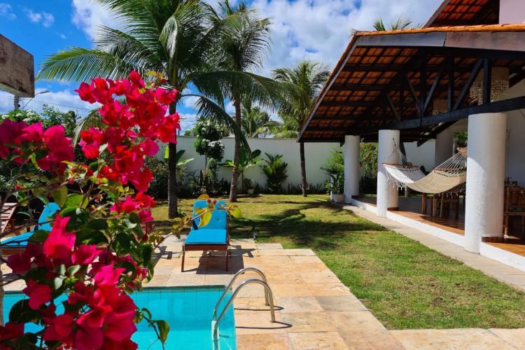 Kite Soul Pousada, no Cumbuco, abriu para o público geral neste mês de agosto (Foto: Divulgação)