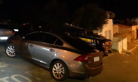 Veículo foi apreendido na cidade de Tauá. Foto:  Ascom/PRF