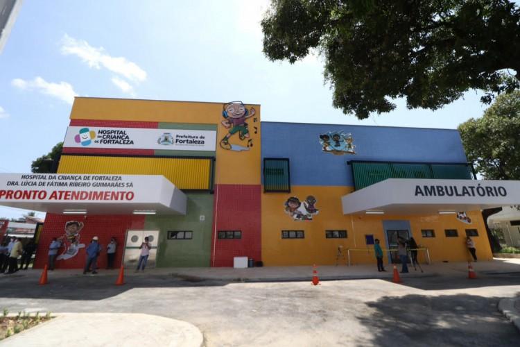 Hospital da Criança terá como foco cirurgias agendadas, mas também há pronto-atendimento para pacientes da região (Foto: Fábio Lima)