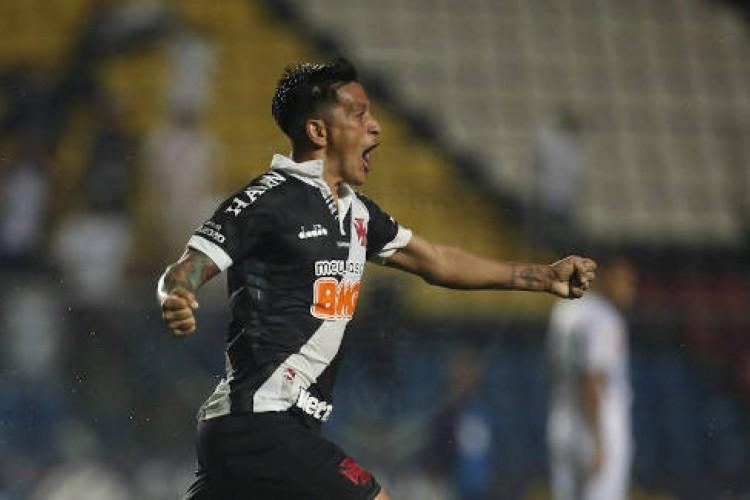 Germán Cano tem 11 gols em 15 jogos nesta temporada  (Foto: Divulgação/Vasco da Gama)