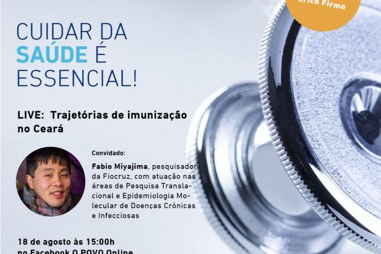 - O ao vivo do projeto Nova Saúde ocorre nesta terça-feira, às 15 horas (Foto: Divulgação)