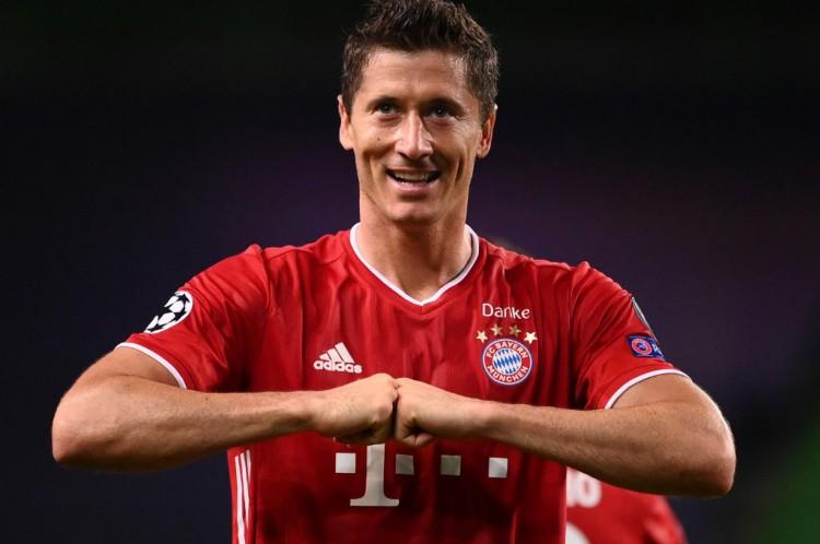 O atacante polonês Robert Lewandowski, atualmente no Bayern, na lista da sucessão dos supercraques