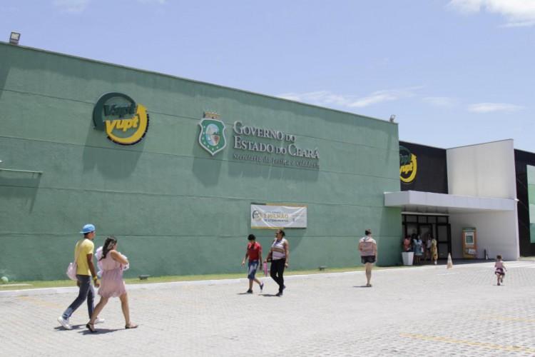 Exclusivamente por agendamento e operando com apenas 50% da capacidade, Casa do Cidadão e Vapt Vupts de Fortaleza retomam atendimento presencial na segunda, 24 (Foto: Aurélio Alves)