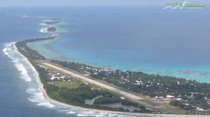 O arquipélago de Tuvalu é um dos mais ameaçados com o aquecimento global e pode desaparecer com o aumento do nível do mar