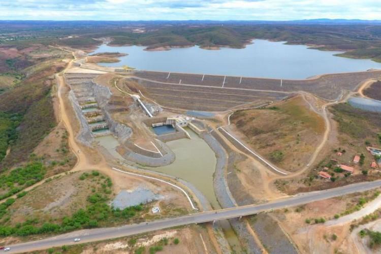 Barragem em Jati se rompeu nesta sexta, 21 (Foto: WhatsApp O POVO)