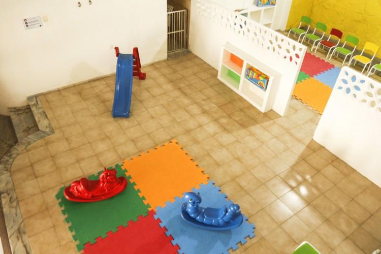 Creches infantis poderão retornar as atividades presenciais a partir da próxima semana  (Foto: Barbara Moira/O POVO)