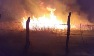 Incêndio em Iguatu foi contido após uso de 10 mil litros de água