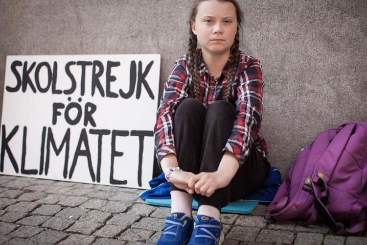 Greta mobilizou o movimento