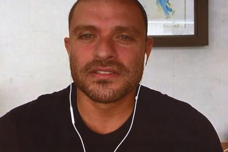 O artista revelou a complicação da doença em entrevista ao programa