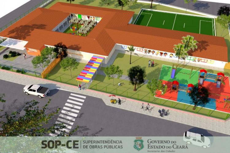 O espaço contará com brinquedoteca, areninha, restaurante social e atividades de cultura e arte