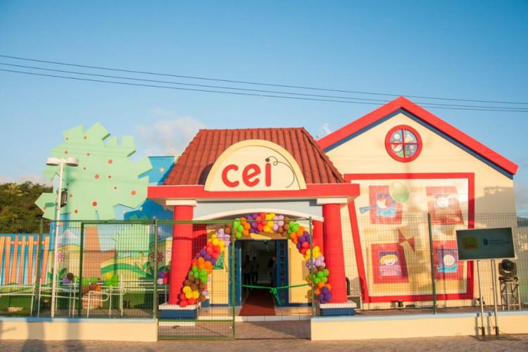 32 municípios cearenses receberão novos espaços pedagógicos infantis (Foto: Divulgação/Governo do Ceará)