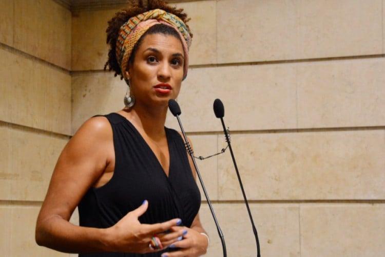 Marielle Franco, assassinada com seu motorista Anderson Gomes em março de 2018, era vereadora no Rio de Janeiro (RJ) pelo Psol (Foto: Renan Olaz/Câmara Municipal do Rio)