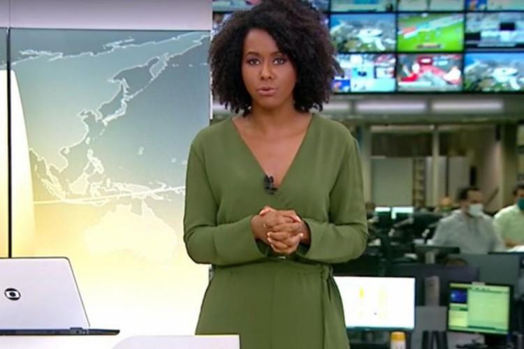 Os ataques começaram após o presidente compartilhar vídeo com comentário de Maju (Foto: Reprodução/Globo)